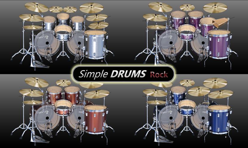 Simple Drums Rock – batería 1
