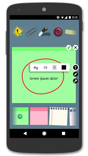Sticky Notes + Widget 3
