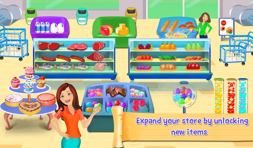 Supermercado caja registradora: Gerente y Cajero 3