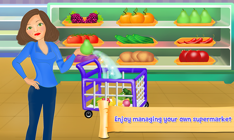 Supermercado caja registradora: Gerente y Cajero 5