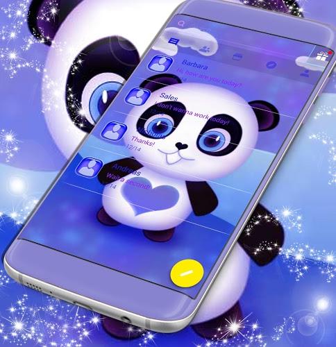 Tema de Panda Panda SMS 1