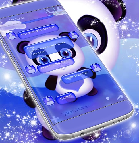Tema de Panda Panda SMS 4