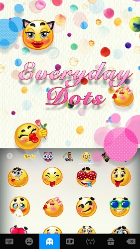 Tema de Teclado Expression Everyday emoji 3