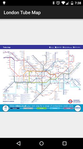Tube Map: London Underground 1
