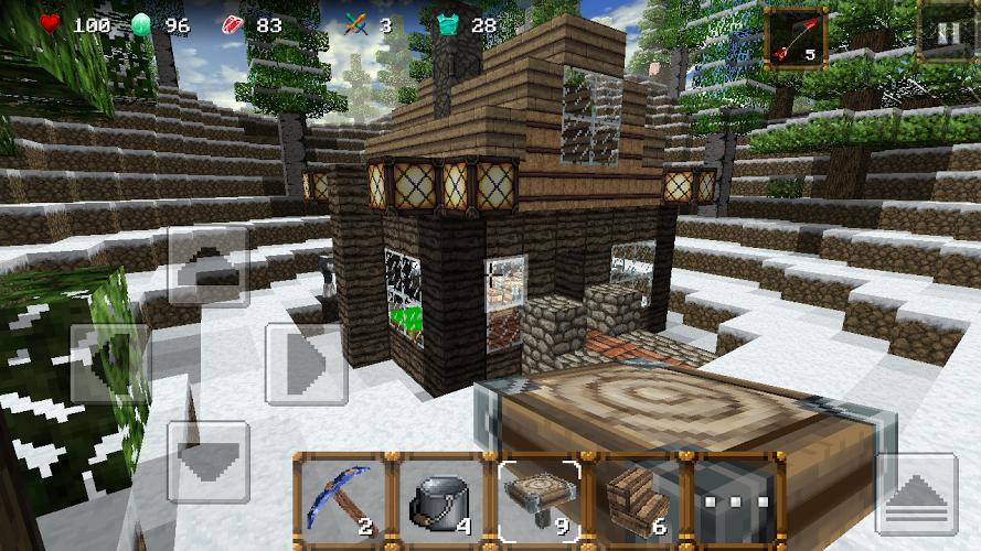 Winter Craft 3: Mine Build 4