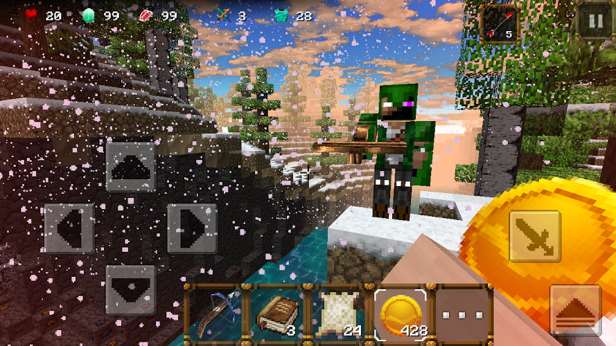 Winter Craft 3: Mine Build 5