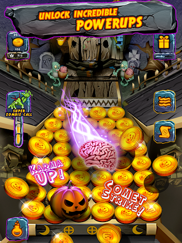 Zombie Ghosts Coin Party Dozer 1