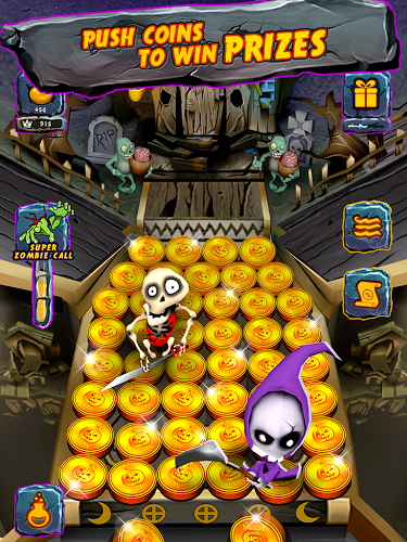 Zombie Ghosts Coin Party Dozer 3