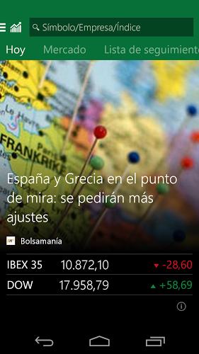 MSN Dinero: Bolsa y Noticias 1