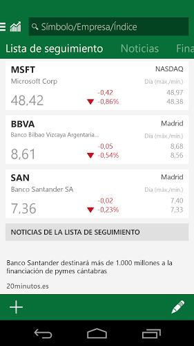 MSN Dinero: Bolsa y Noticias 3