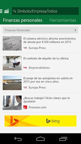 MSN Dinero: Bolsa y Noticias 4