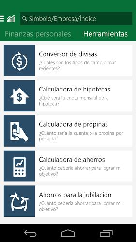 MSN Dinero: Bolsa y Noticias 5