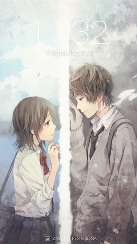 Anime Couple Cute Wallpapers 1