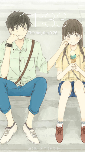 Anime Couple Cute Wallpapers 2