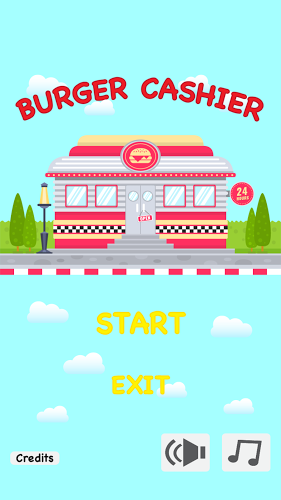 Burger Cashier 1