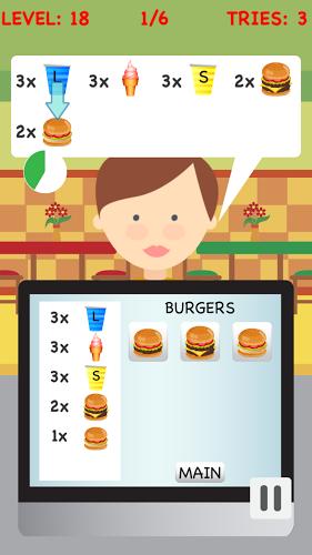 Burger Cashier 5