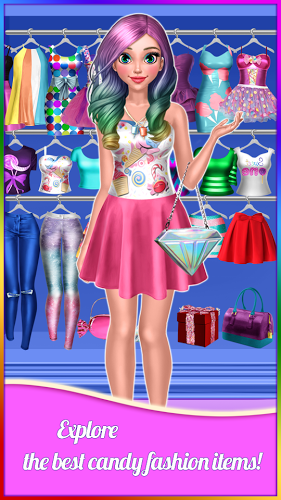 Candy Fashion Dress Up & Makeup Game 1