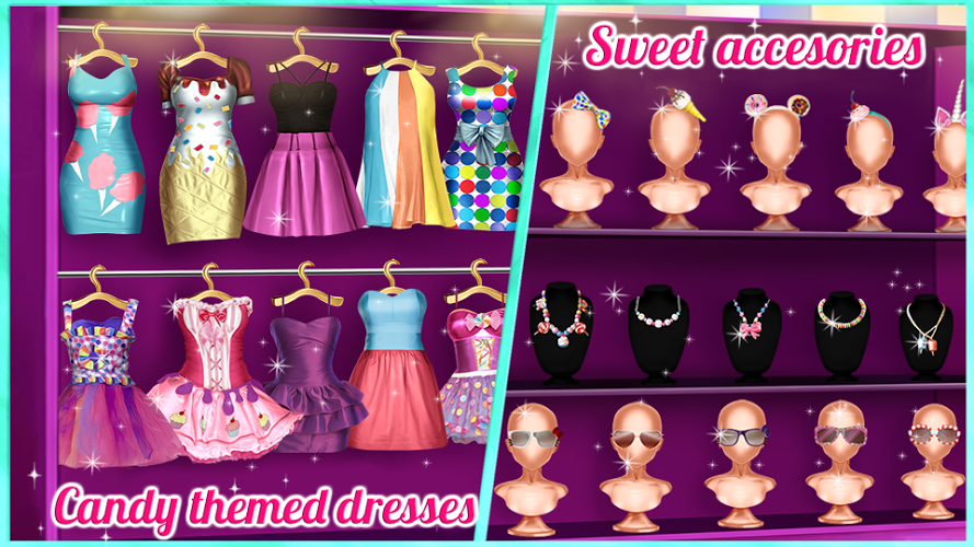 Candy Fashion Dress Up & Makeup Game 2