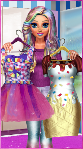 Candy Fashion Dress Up & Makeup Game 3