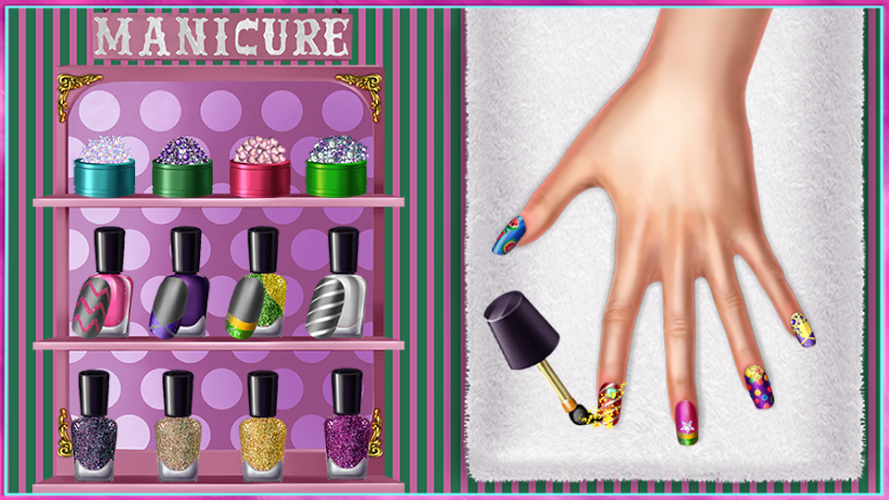 Candy Fashion Dress Up & Makeup Game 5