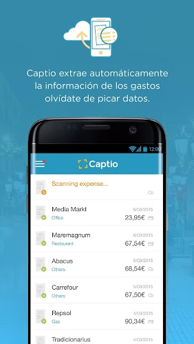 Captio – Informes de gastos 2