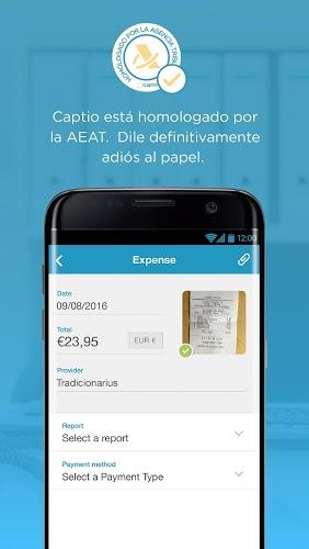Captio – Informes de gastos 3