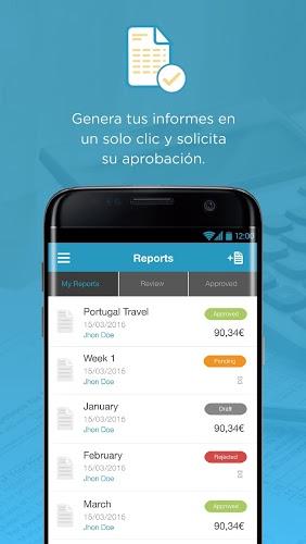 Captio – Informes de gastos 4