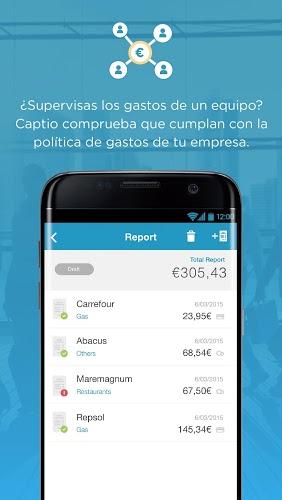 Captio – Informes de gastos 5