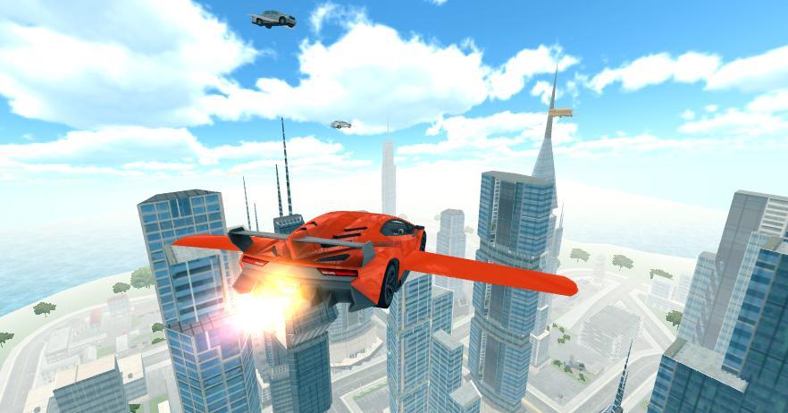 Carro volador 3D 1