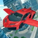 Carro volador 3D
