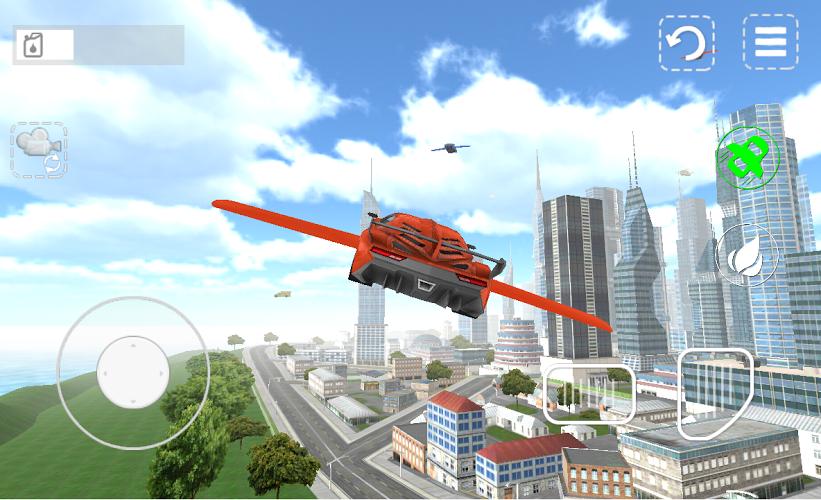 Carro volador 3D 2