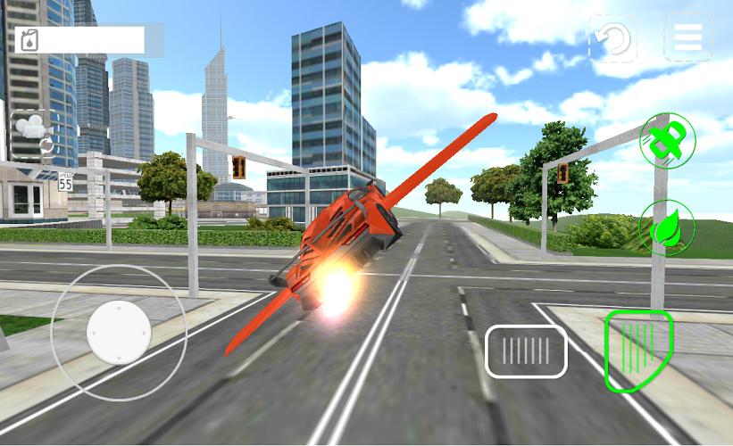 Carro volador 3D 3