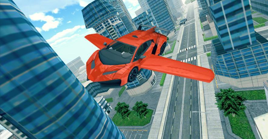 Carro volador 3D 5