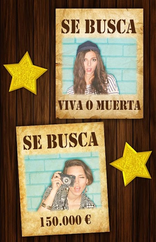 Cartel se busca Wanted poster 3