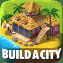 Construye tu Ciudad Tropical (Tropic Town Sim Bay)