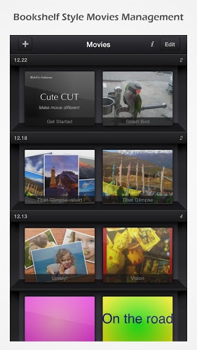 Cute CUT – Editor de video 4