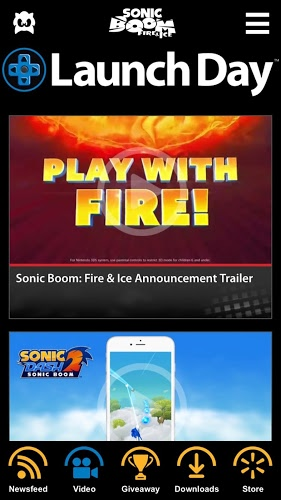 LaunchDay – Sonic Boom 4