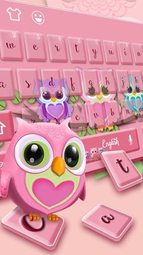 Lindo teclado lechuza 1