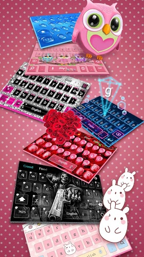 Lindo teclado lechuza 4