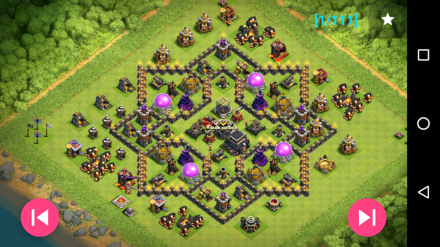Maps of Coc TH9 4