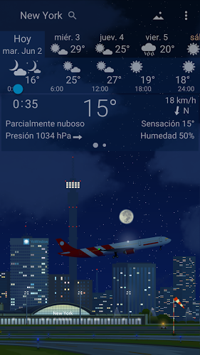 Meteorología Exacta Yowindow 5