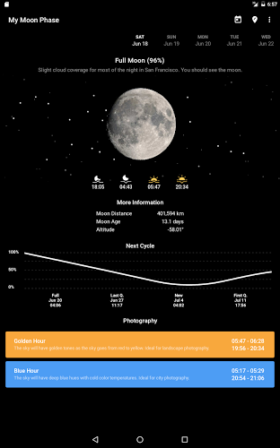 My Moon Phase – Lunar Calendar & Full Moon Phases 4