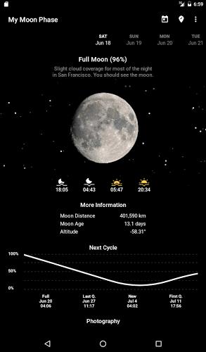 My Moon Phase – Lunar Calendar & Full Moon Phases 5