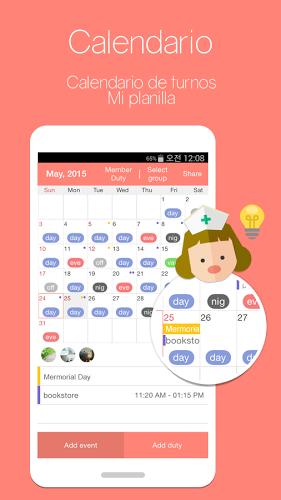 MyDuty-Calendario de enfermera 1