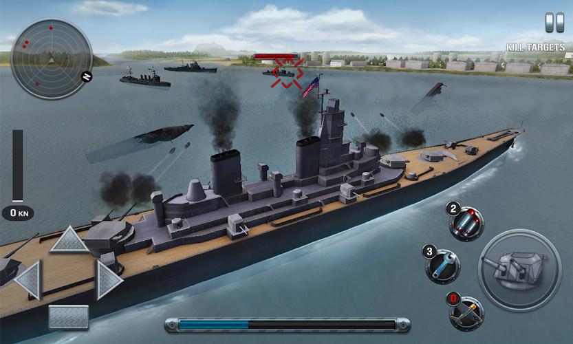 Naves de batalla: el pacífico 1