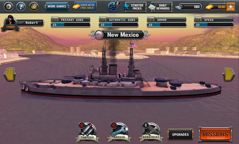Naves de batalla: el pacífico 2