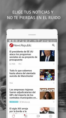 News Republic – Sus noticias 4