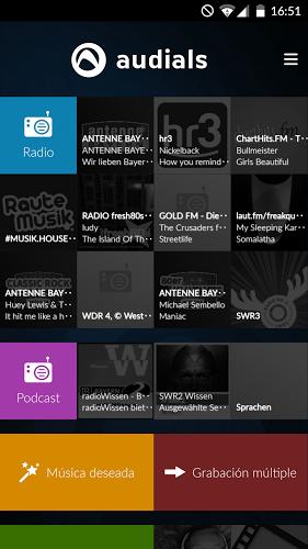 Radio Player de Audials 1