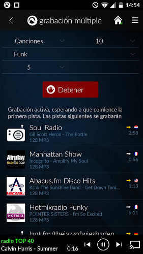 Radio Player de Audials 3