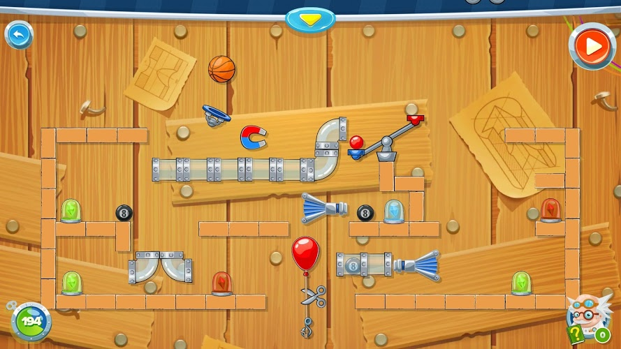 Rube's Lab – Physics Puzzle 2